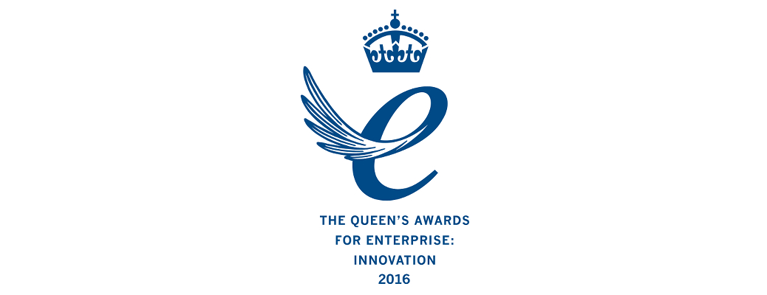 queens award icon with the text, the queens award for enterprise and innovation